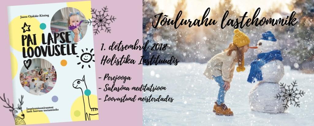 Joulurahu lastehommik (2)